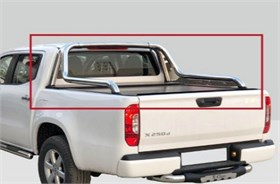 Ford Ranger T6 Spider Canyon Chrome Rollbar (PRB27) 2012-2015